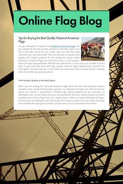 Online Flag Blog
