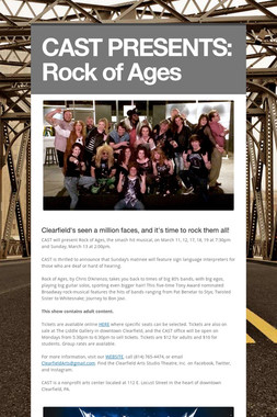 CAST PRESENTS:  Rock of Ages