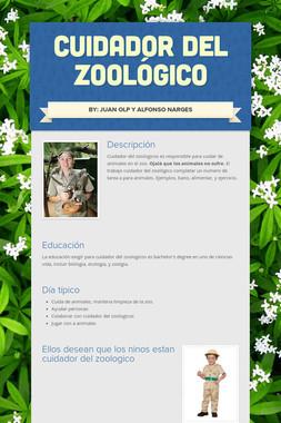 Cuidador Del Zoológico
