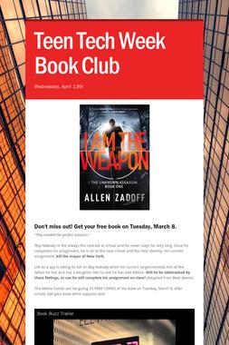 Teen Tech Week    Book Club