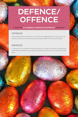 Defence/ Offence