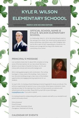 Kyle R. Wilson Elementary Schoool