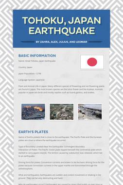 Tohoku, Japan    Earthquake