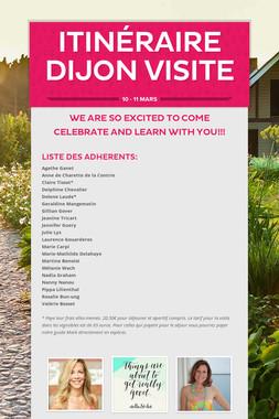 Itinéraire Dijon Visite