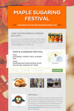 Maple Sugaring Festival