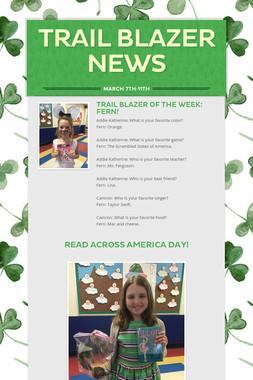 Trail Blazer News