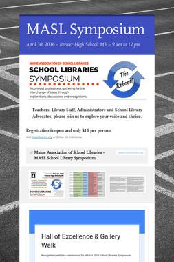 MASL Symposium