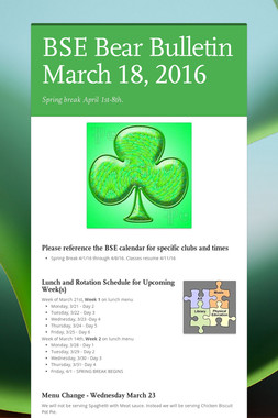 BSE Bear Bulletin March 18, 2016