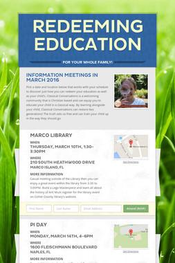 Redeeming Education