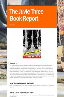 The Juvie Three Book Report