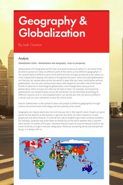 Geography & Globalization
