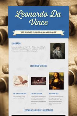 Leonardo Da Vince