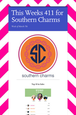 This Weeks 411 for Southern Charms