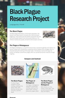 Black Plague Research Project