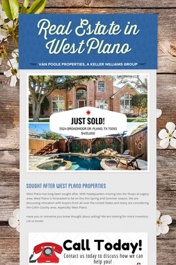Real Estate in West Plano