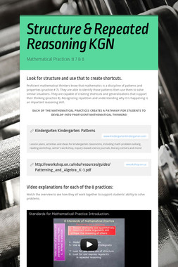 Structure & Repeated Reasoning KGN