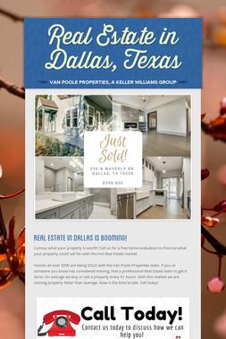 Real Estate in Dallas, Texas
