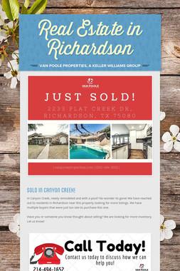 Real Estate in Richardson