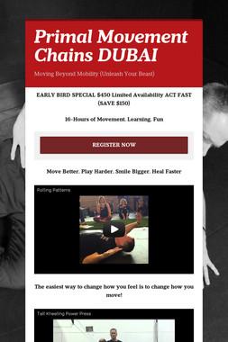 Primal Movement Chains DUBAI