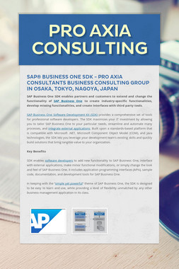 Pro Axia Consulting