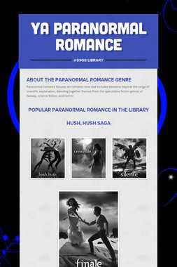 YA Paranormal Romance