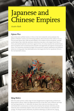 Japanese and Chinese Empires