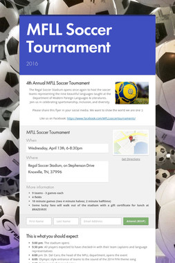 MFLL Soccer Tournament