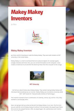 Makey Makey Inventors