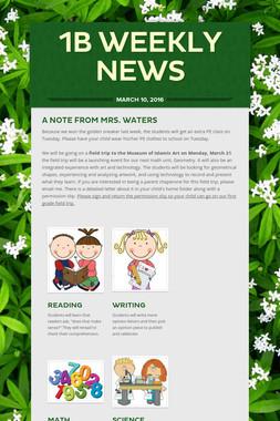 1B Weekly News