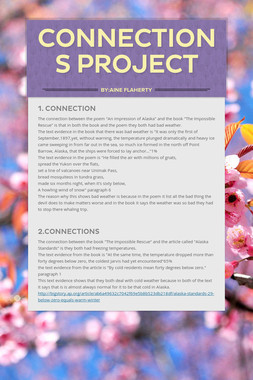 Connections Project