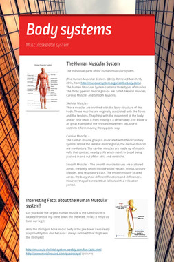 Body systems