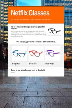 Netfilx Glasses