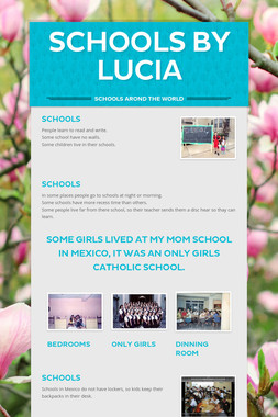 SCHOOLS BY LUCIA