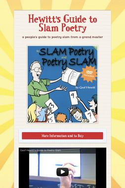 Hewitt's Guide to Slam Poetry