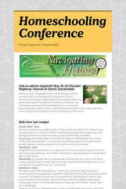 Homeschooling Conference