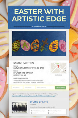 Easter with Artistic Edge