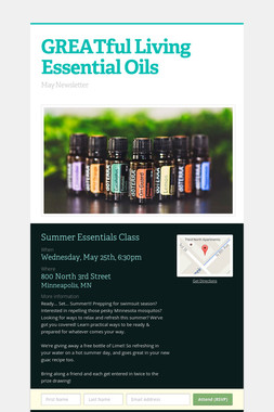 GREATful Living Essential Oils