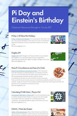Pi Day and Einstein's Birthday