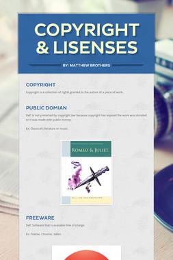 Copyright & Lisenses