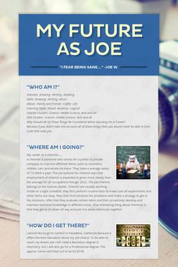 My Future As Joe