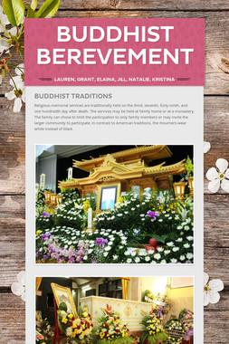 Buddhist Berevement