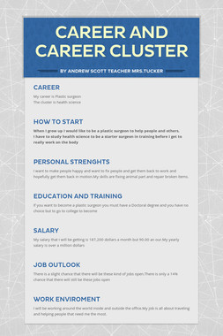 Career and Career cluster