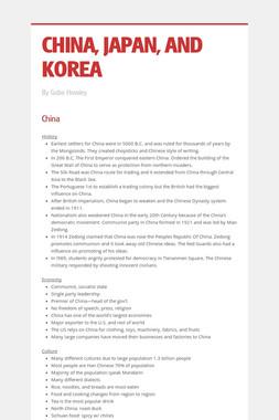 CHINA, JAPAN, AND KOREA