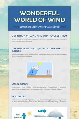 Wonderful World of Wind