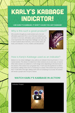 Karly's Kabbage Indicator!