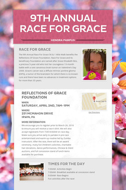 9th Annual Race For Grace
