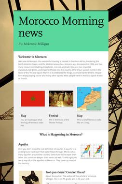 Morocco Morning news