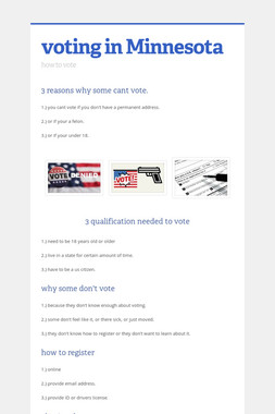 voting in Minnesota