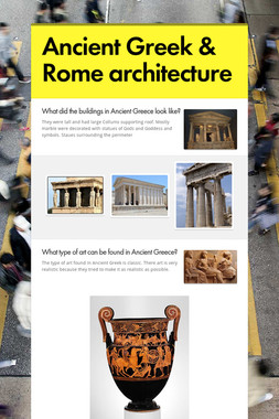 Ancient Greek & Rome architecture