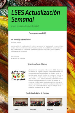 LSES Actualización Semanal